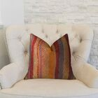 Earth Throw Pillow Size: 22