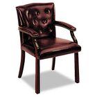 6540 Series Guest Chair Upholstery: Oxblood Vinyl
