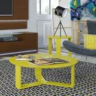 Emiliah 2 Piece Coffee Table Set Color: Yellow