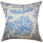 Neola Floral Bedding Sham Size: Standard, Color: Blue