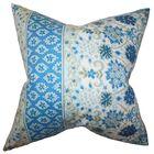 Kairi Floral Bedding Sham Size: Euro, Color: Blue