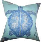 Aeliena Coastal Bedding Sham Size: King, Color: Sky Blue
