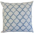 Chaney Geometric Bedding Sham Size: Queen, Color: Sky