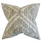 Pickens Geometric Bedding Sham Color: Pewter, Size: Queen
