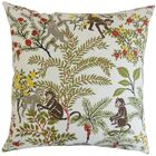 Fiametta Foliage Bedding Sham Size: King, Color: Beige