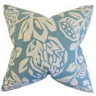 Kiernan Floral Bedding Sham Color: Cove, Size: Standard