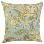 Gitana Throw Pillow Color: Gold Silver, Size: 22