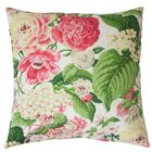 Kalonice Cotton Throw Pillow Color: Rose Green, Size: 22