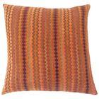 Kawena Geometric Bedding Sham Color: Amber, Size: Euro