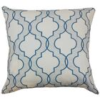 Apolinne Geometric Throw Pillow Color: Teal, Size: 20