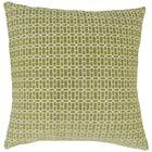 Yancy Throw Pillow Color: Kiwi, Size: 24