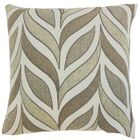 Veradis Geometric Throw Pillow Color: Driftwood, Size: 22