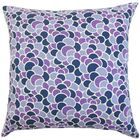 Lily Geometric Bedding Sham Size: Standard, Color: Plum