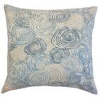Blakesley Linen Throw Pillow Color: River, Size: 20