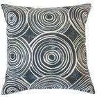 Ahuva Geometric Cotton Throw Pillow Color: Kohl, Size: 22