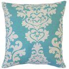 Wilona Cotton Throw Pillow Color: Indigo, Size: 24