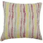 Malu Throw Pillow Color: Harvest, Size: 24