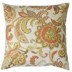 Pelagia Floral Throw Pillow Size: 24
