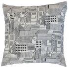 Xakery Geometric Cotton Throw Pillow Size: 20