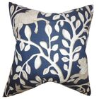 Jorja Foliage Throw Pillow Size: 24