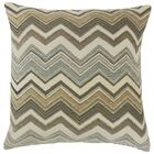 Saroja Zigzag Throw Pillow Size: 24