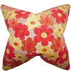 Parvaiz Floral Throw Pillow Size: 24