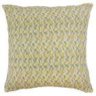 Bloem Throw Pillow Color: Citron, Size: 22