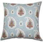 Zaci Floral Cotton Throw Pillow Size: 20