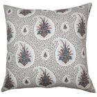 Zaci Floral Cotton Throw Pillow Size: 20