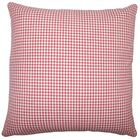 Occhave Houndstooth Bedding Sham Size: Queen, Color: Red