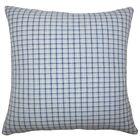 Quora Plaid Bedding Sham Size: Standard, Color: Blue