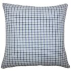 Quora Plaid Cotton Throw Pillow Size: 20