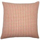 Quora Plaid Cotton Throw Pillow Size: 20