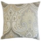 Chandley Damask Floor Pillow Color: Limestone