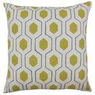 Quinton Geometric Floor Pillow Color: Chartreuse