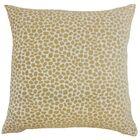 Edmee Geometric Floor Pillow Color: Sand
