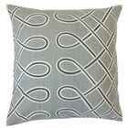 Seville Geometric Floor Pillow Color: Storm