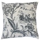 D'or Toile Floor Pillow