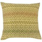 Delray Ikat Floor Pillow Color: Jungle
