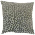 Dreketi Geometric Floor Pillow Color: Pewter