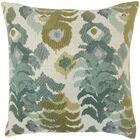 Addison Ikat Floor Pillow Color: Lagoon