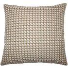 Reuben Geometric Floor Pillow Color: Mushroom