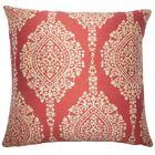 Dodsworth Damask Floor Pillow Color: Cayenne