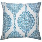Dodsworth Damask Floor Pillow Color: Peacock