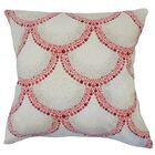 Teller Polka Dot Down Filled 100% Cotton Throw Pillow Size: 22
