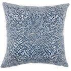 Kroeker Ikat Floor Pillow Color: Navy