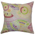 Ayesa Umbrella Throw Pillow Color: Confetti, Size: 20