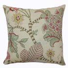 Elodie Floral Cotton Throw Pillow Color: Pastel, Size: 24