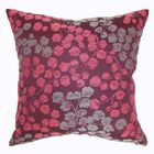 Fleur Floral Throw Pillow Size: 24