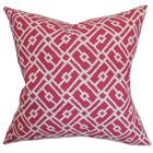 Majkin Geometric Cotton Throw Pillow Cover Size: 20